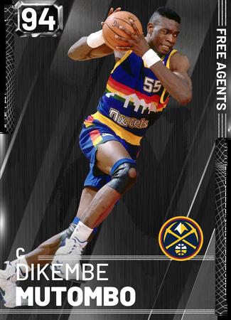 '91 Dikembe Mutombo onyx card