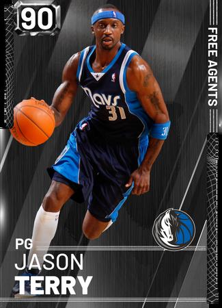 '02 Jason Terry onyx card