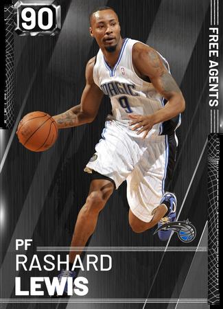 '13 Rashard Lewis onyx card