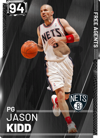 '13 Jason Kidd onyx card