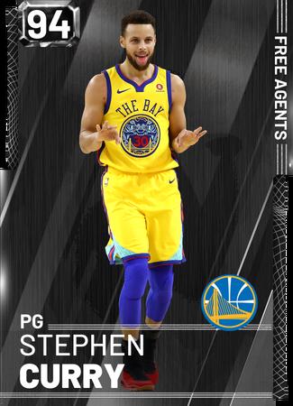 Stephen Curry onyx card