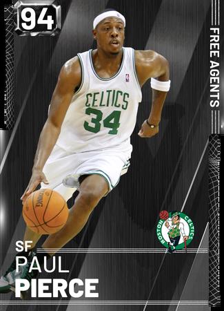 '08 Paul Pierce onyx card