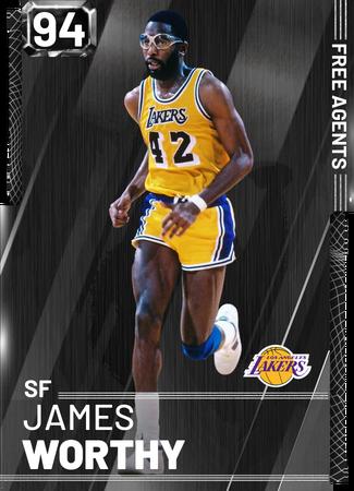 '94 James Worthy onyx card