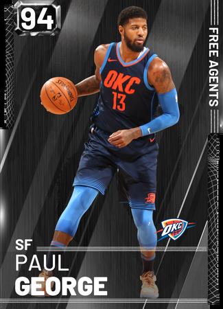 '13 Paul George onyx card