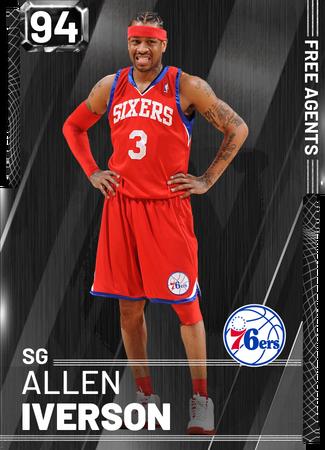 '10 Allen Iverson onyx card