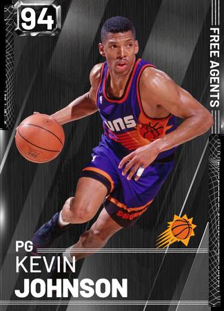 '00 Kevin Johnson onyx card
