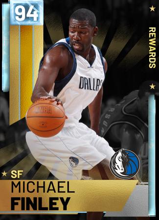 '97 Michael Finley diamond card