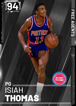 '82 Isiah Thomas onyx card