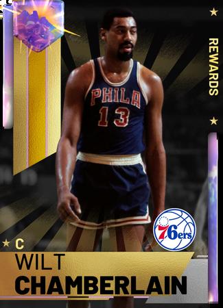'73 Wilt Chamberlain opal card