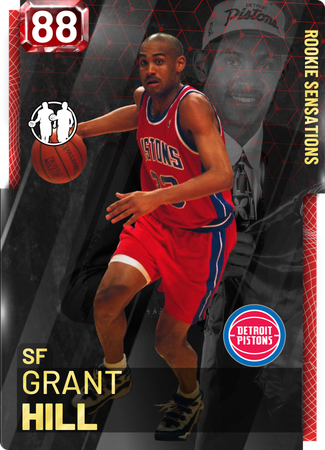 '05 Grant Hill ruby card