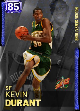 '06 Kevin Durant sapphire card