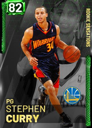 '10 Stephen Curry emerald card