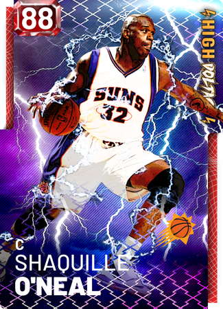 '06 Shaquille O'Neal ruby card