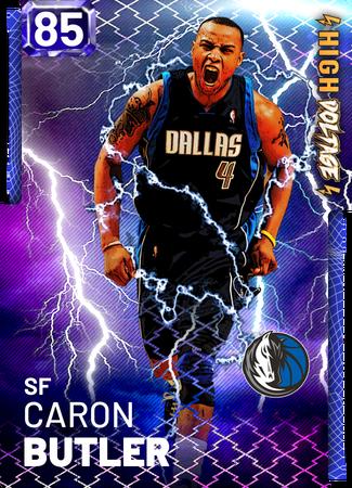 '11 Caron Butler sapphire card