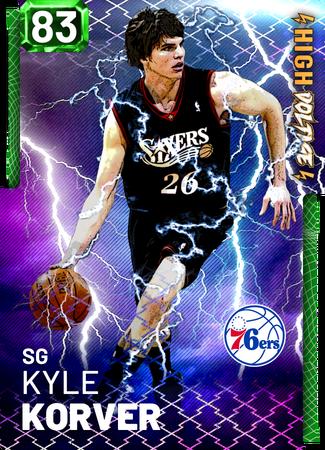 '18 Kyle Korver emerald card