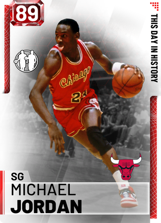'86 Michael Jordan ruby card