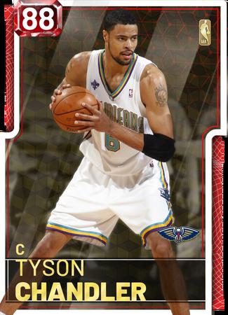 '12 Tyson Chandler ruby card