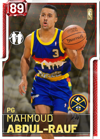 '94 Mahmoud Abdul-Rauf ruby card