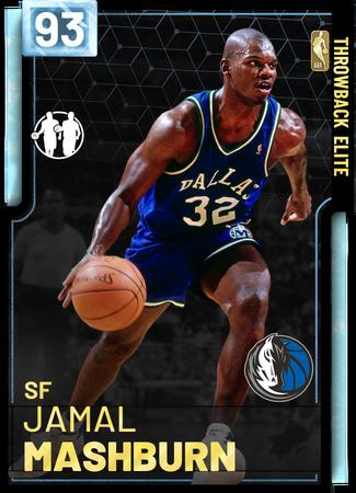 '04 Jamal Mashburn diamond card
