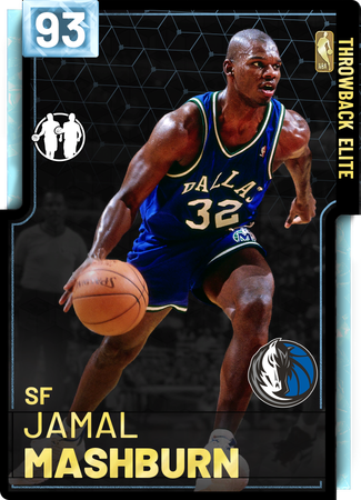 '04 Jamal Mashburn diamond card