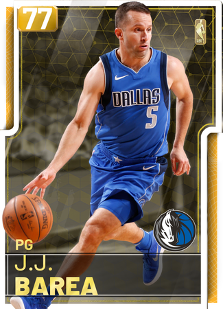 J.J. Barea gold card