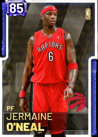 '14 Jermaine O'Neal sapphire card