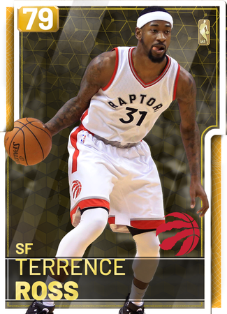 '13 Terrence Ross gold card