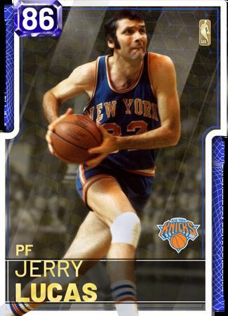 '74 Jerry Lucas sapphire card