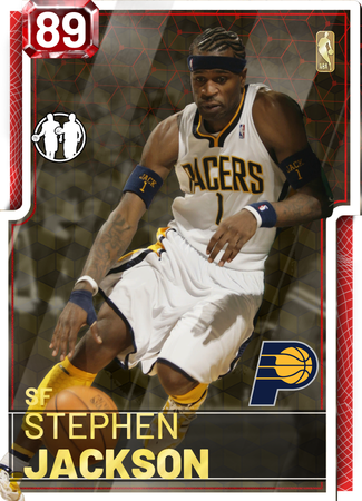 '14 Stephen Jackson ruby card