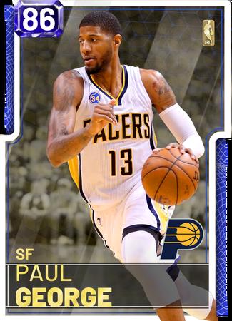 Paul George sapphire card