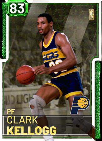 '88 Clark Kellogg emerald card