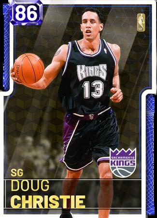 '07 Doug Christie sapphire card