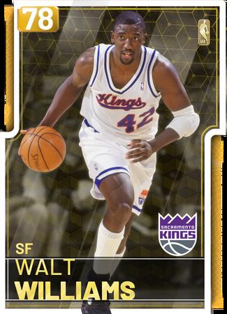 '03 Walt Williams gold card