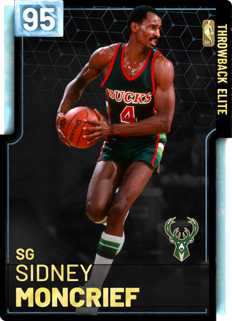 '85 Sidney Moncrief diamond card