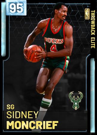 '85 Sidney Moncrief diamond card