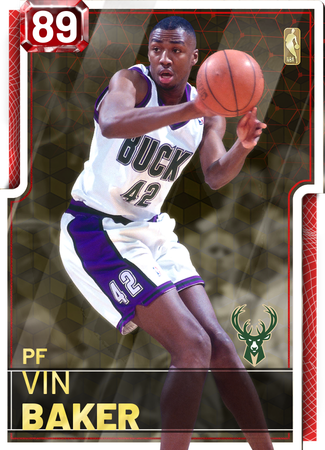 '06 Vin Baker ruby card