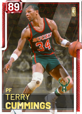 '85 Terry Cummings ruby card