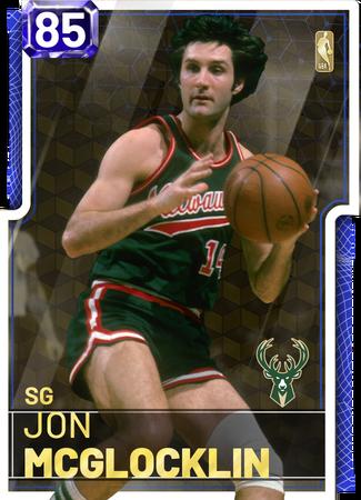 '76 Jon McGlocklin sapphire card