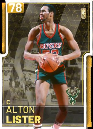 '85 Alton Lister gold card