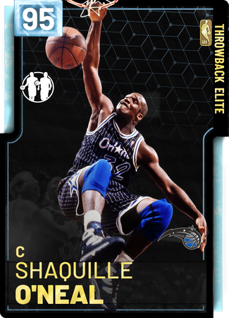'11 Shaquille O'Neal diamond card