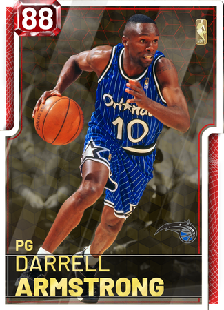 '08 Darrell Armstrong ruby card
