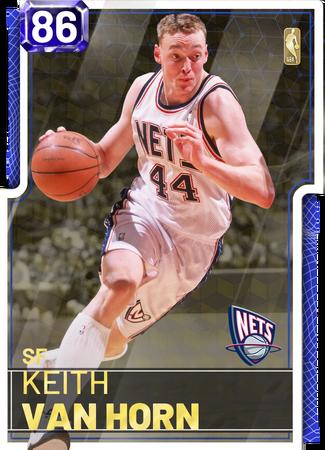 '02 Keith Van Horn sapphire card