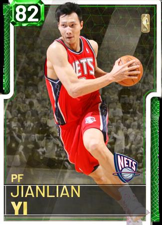 '18 Jianlian Yi emerald card