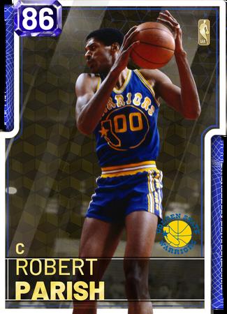 '97 Robert Parish sapphire card