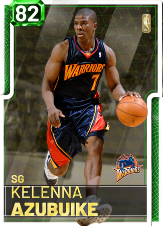 '07 Kelenna Azubuike emerald card