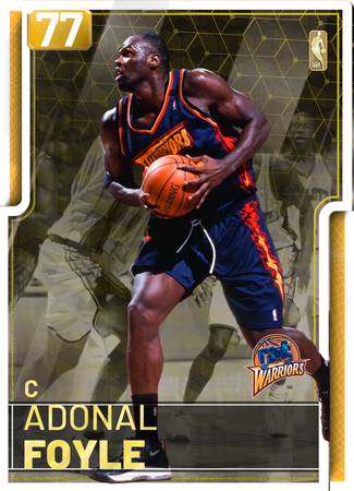 '07 Adonal Foyle gold card