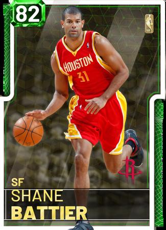 '06 Shane Battier emerald card