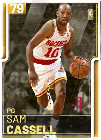 '04 Sam Cassell gold card