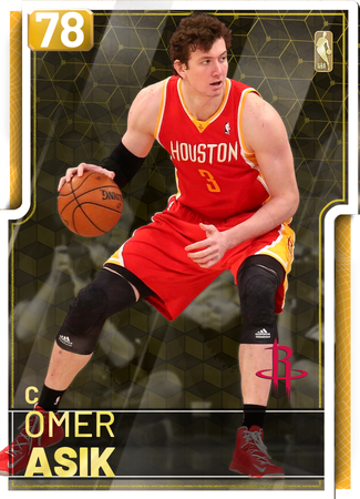 '11 Omer Asik gold card