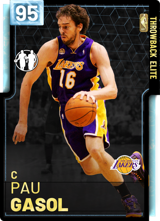 '18 Pau Gasol diamond card